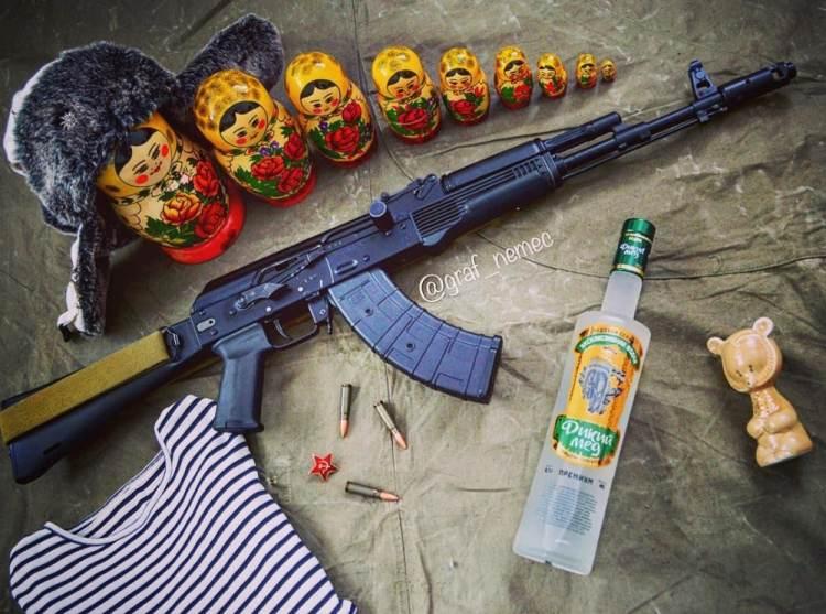 AK Stock - Zhukov Stock - Magpul AK 47 furniture - @graf_nemec Bashkortostan-Russia