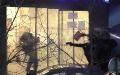 A terrorist gets smoke-checked in Paris