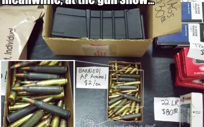 """Price Gouging, M855 Ammo, and """"Gun Control by Proxy"""""""
