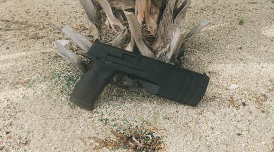 SilencerCo internally suppressed handgun