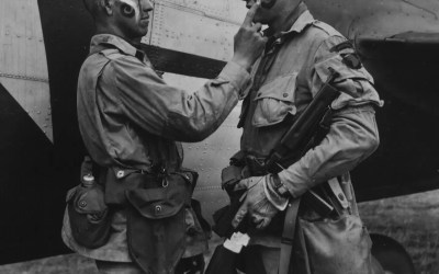 Today's Paratroopers, Yesterday's Paratroopers (A Photo Essay)