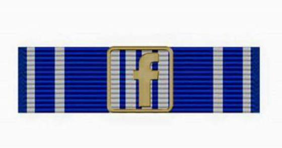 Facebook War Fighter Ribbon 2