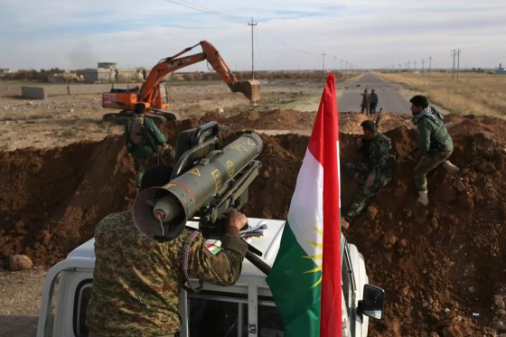 Kurdish Forces Occupy Ruins Of Sinjar After Liberation From Daesh