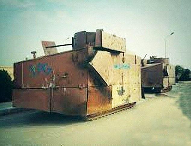 improvised tank