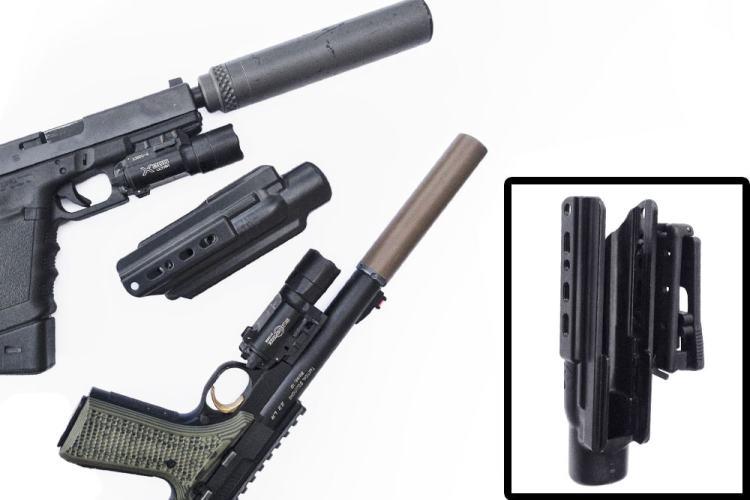 Armordillo Concealment X-Fer V2 suppressor holster