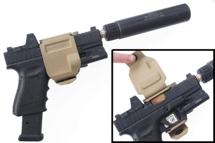 Crye Precision Gun Clip - suppressor holster.