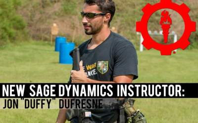 "New Sage Dynamics Instructor: Jon ""Duffy"" Dufresne"
