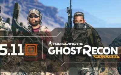 5.11 Tactical & Ubisoft — Ghost Recon: Wildlands