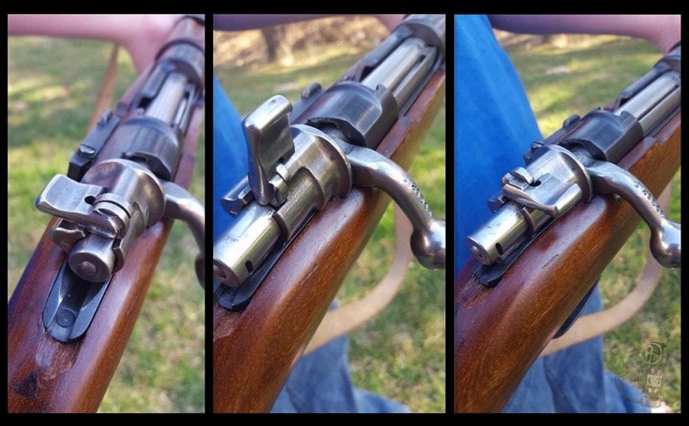 Three position Mauser safety