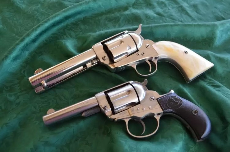 The Colt SAA and Colt Lightning