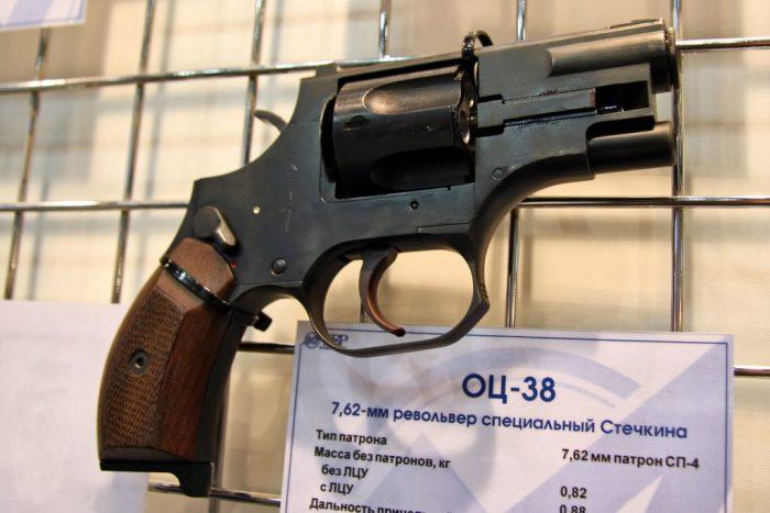 Stechkin OTs-38 on display.