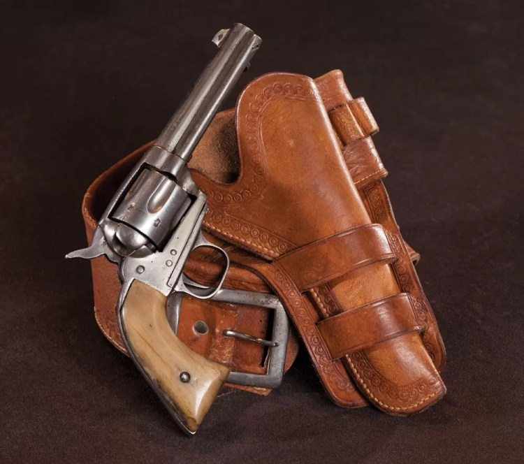 Most people think that the pictured revolver is a Colt Single Action Army Model of 1873