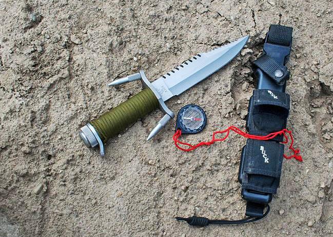 Buckmaster survival knife