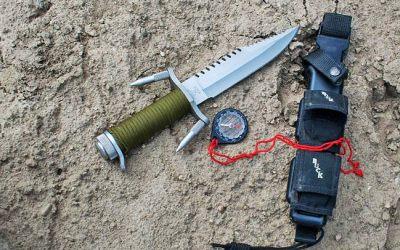Buckmaster: big damn survival knife from Buck Knives
