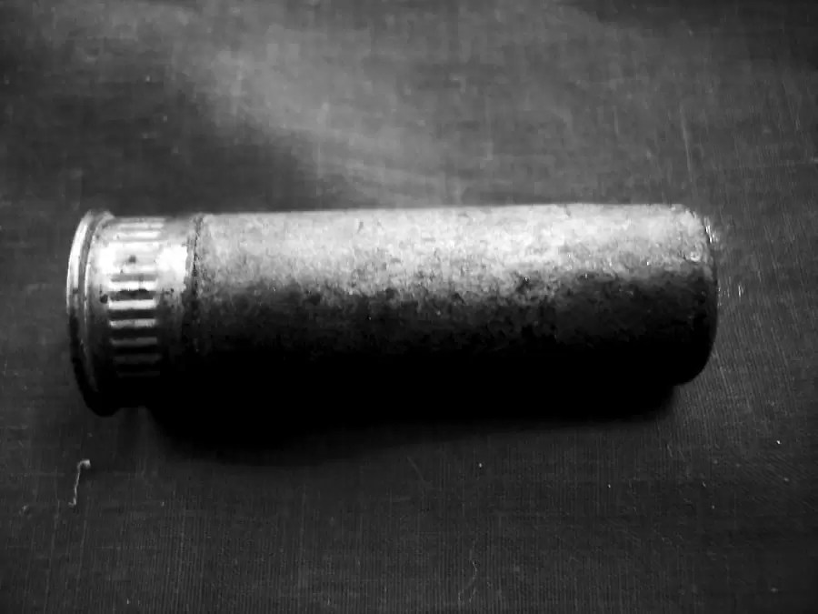 Paper Shotgun Shell from Gun Auction