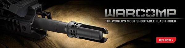 SureFire War Comp muzzle device