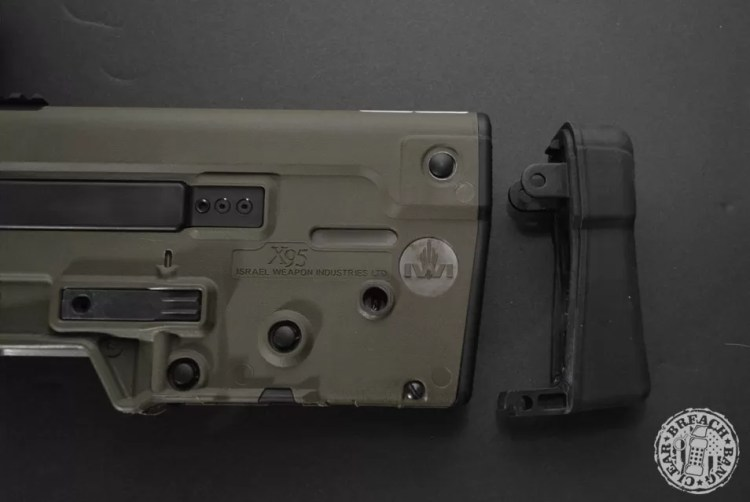 A Tavor buttpad for your IWI bullpup rifle