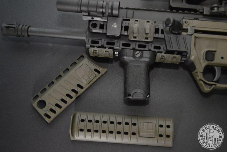 BCM gunfighter grip on an X95