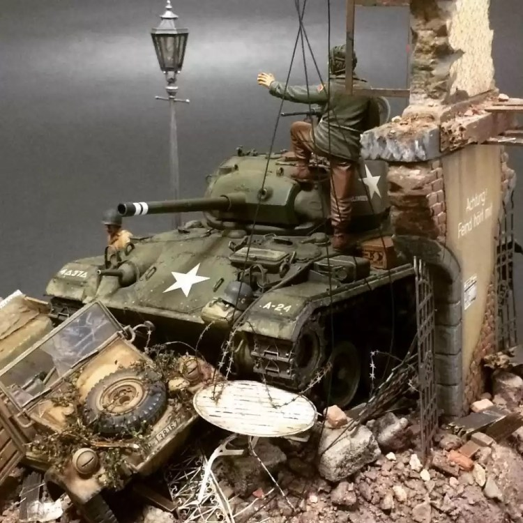 In this installment of tank week: 5 of the best 1/35 scale and other scale model tank modelers around: M24 Chaffee light tank.