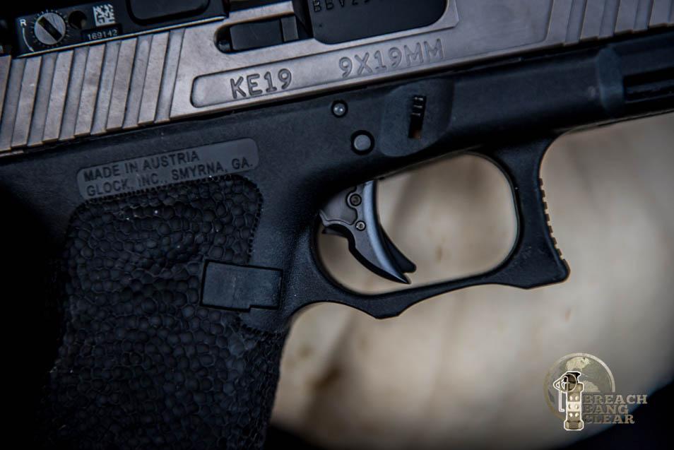 A Close-up of the Overwatch Precision Falx Trigger