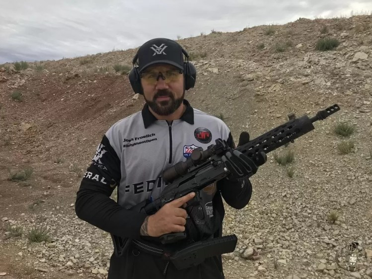 """One of the competitors astthe Rifle Dynamics Red Oktober match. 📷 <a style=""""color: #800000;"""" href=""""https://sinistralrifleman.com/"""" target=""""_blank"""" rel=""""noopener"""">Sinistral Rifleman</a> (@<a style=""""color: #800000;"""" href=""""https://www.instagram.com/sinistralrifleman/"""" target=""""_blank"""" rel=""""noopener"""">sinistralrifleman</a>)</span>"""