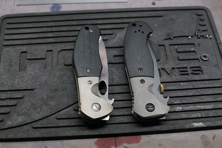 Custom knife maker and craftsman Bill Yester - @yester5