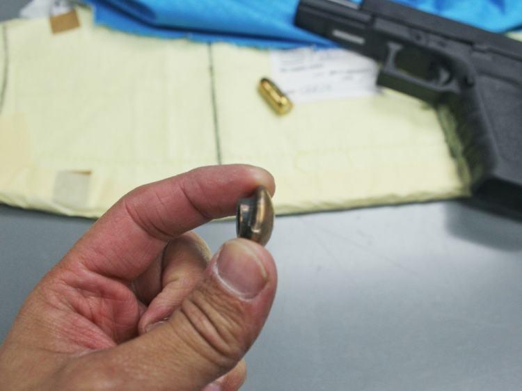 Ballistic testing of Safariland body armor