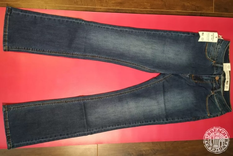 Barbell Apparel Boot Cut in Blue Fade