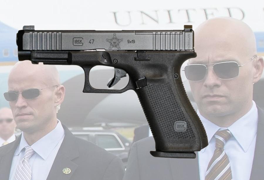 Frank Horrigan's Secret Service Glock 47