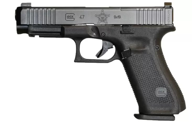 Glock 47 for Secret Service Special Operations Division