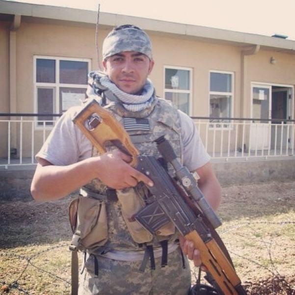 Interpreter turned US citizen and Marine