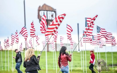The Field of Flags   Memorial Day 2019