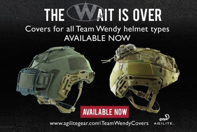 Team Wendy helmet cover