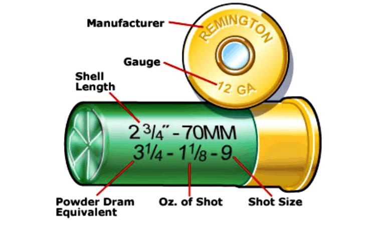Shotshell cartridge measurements