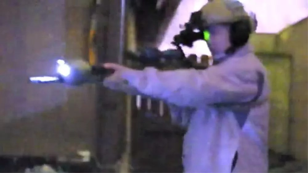 IR Laser & Illuminator. Taken with Sionyx Aurora Night vision camera.