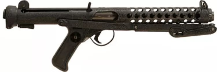 Star Wars Weapons: The Sterling Submachine Gun.