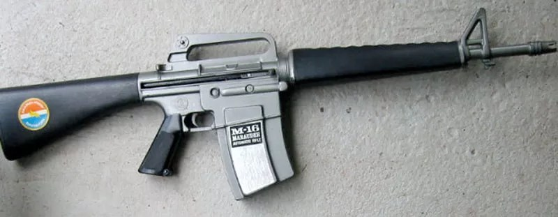 Stoner and Kalashnikov: The Mattel Marauder was so popular that it lead to a myth that Mattel produced parts for the real M16! (Private Collection)