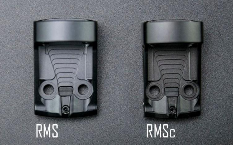 Shield RMS vs. Shield RMSc
