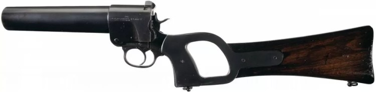Guns of Star Wars: the Webley & Scott No.1 Mark 1 Flare Gun was developed during the First World War and used in the early stages of the Second World War.