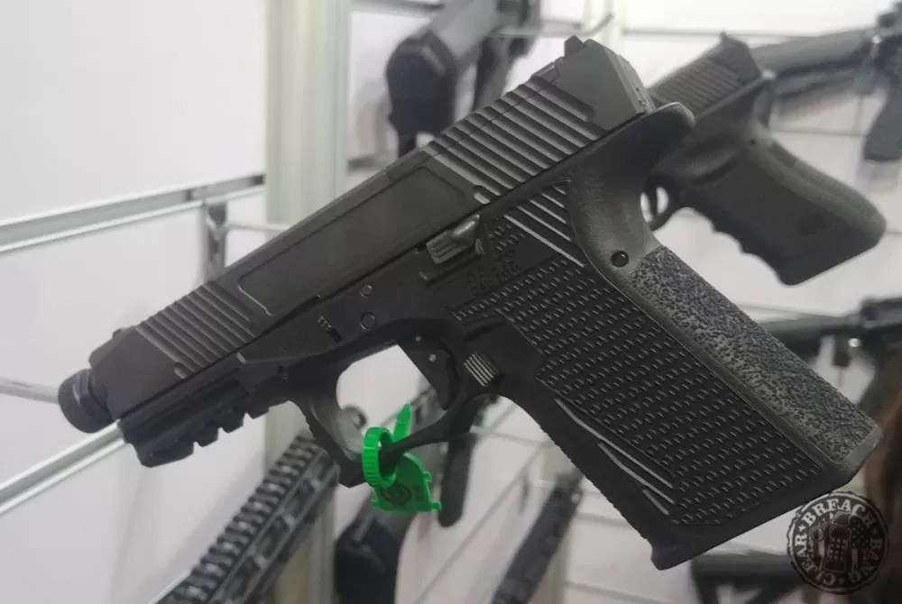 Adams Arms AA-19 With Optic Blanking Plate Installed