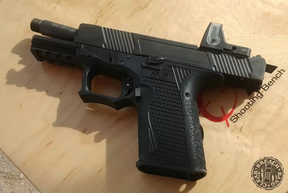Adams Arms AA-19 With Slide Locked To The Rear From Media Day At The Range