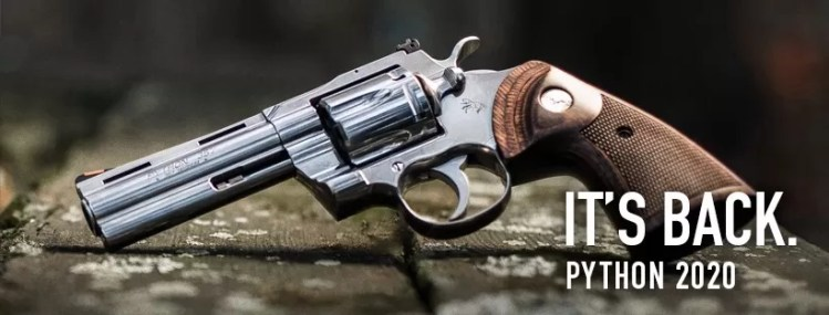 The new Colt Python for 2020