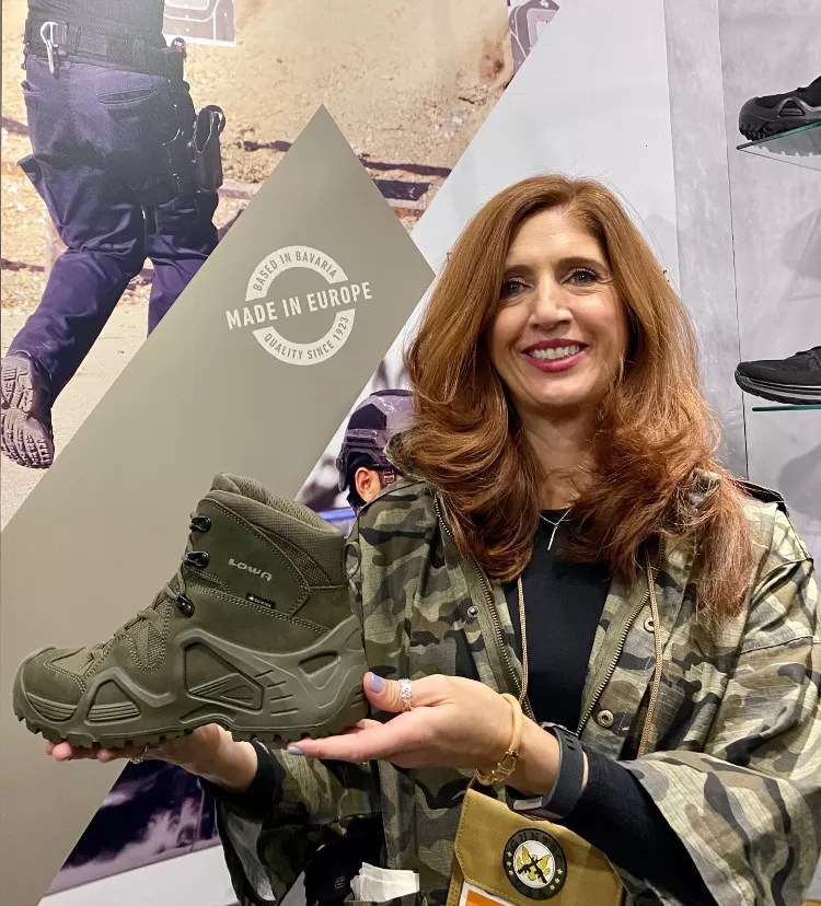 Real Women of SHOT - Valerie Calfous - Lowa Boots.
