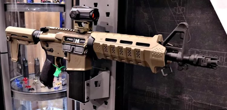 Strike Industries Sentinel AR Pistol in Flat Dark Earth.