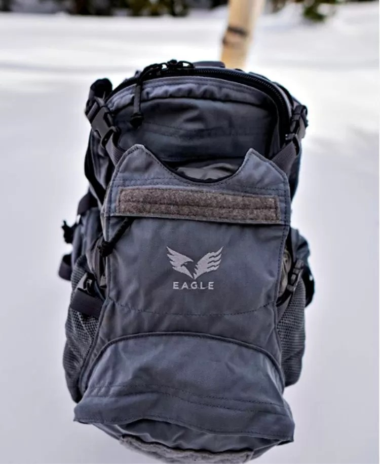 Yote Hydration Pack Eagle Industries, with beavertail compartment.