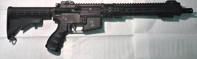 GAU-5A survival gun