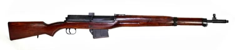 Egyptian small arms in cold war era: Hakim was a modern self-loading (semi-automatic) rifle that was based on a Soviet design.