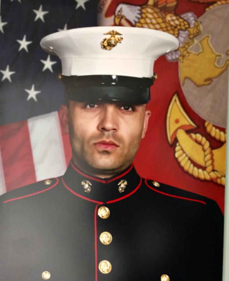 Jason Essazay, US Marine.
