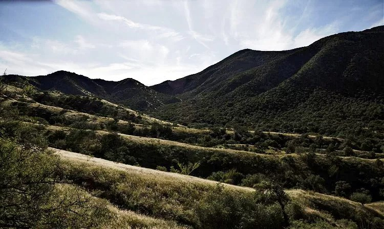 Mountains in Santa Cruz County seen from Duquesne Road between Nogales and Lochiel seen Tuesday, Oct. 1, 2019. Josh Galemore / Arizona Daily Star