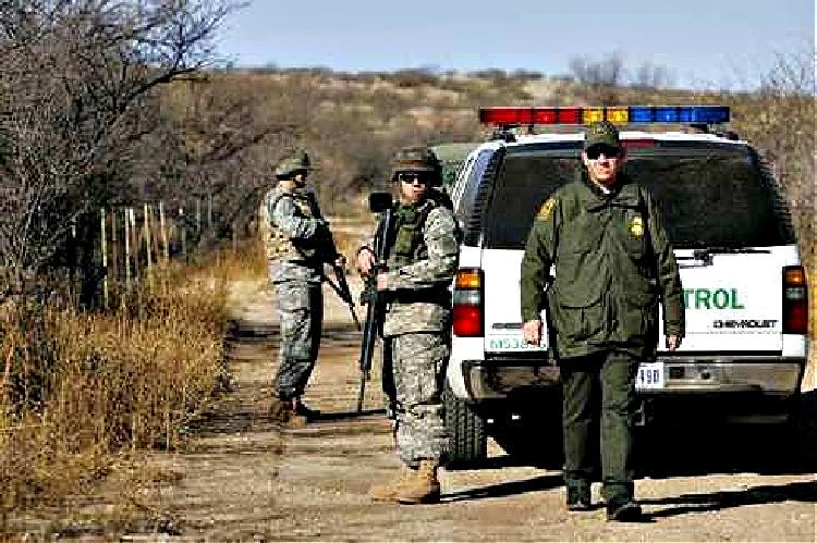 Border Patrol - marijuana smuggling